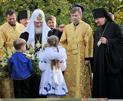 Пусть это Божье благословение простирается и далее на землю Белгородскую и всю Русь Святую!