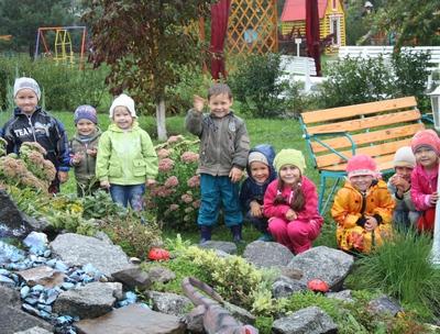 Альпийские горки в детском саду своими руками фото 65