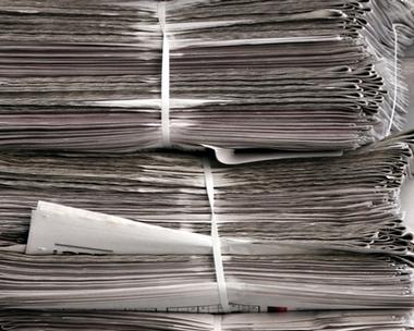 История  газетной строкой